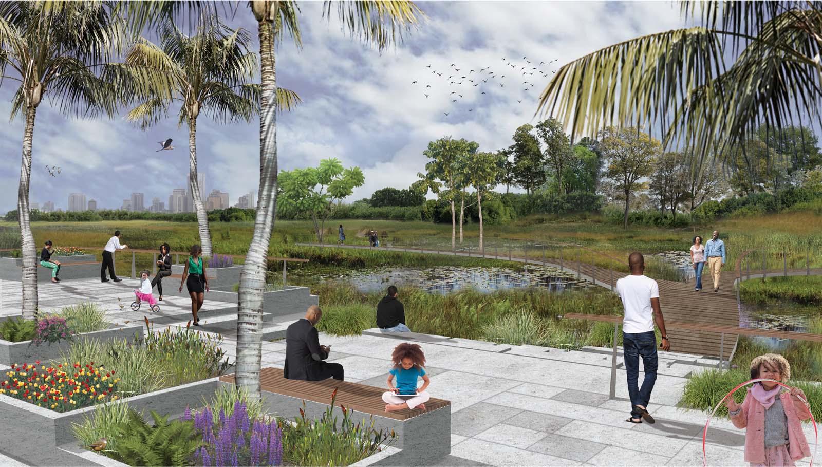 Impression Ilubirin wetland park