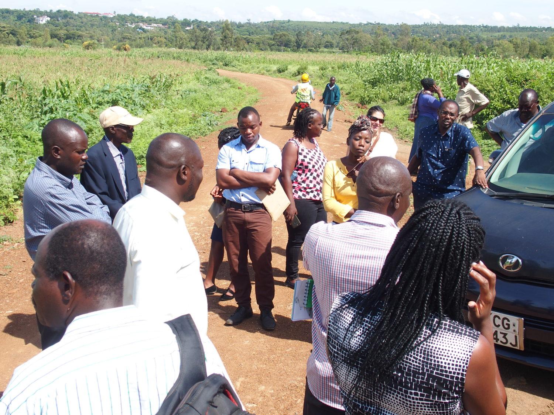 Kisumu site visit